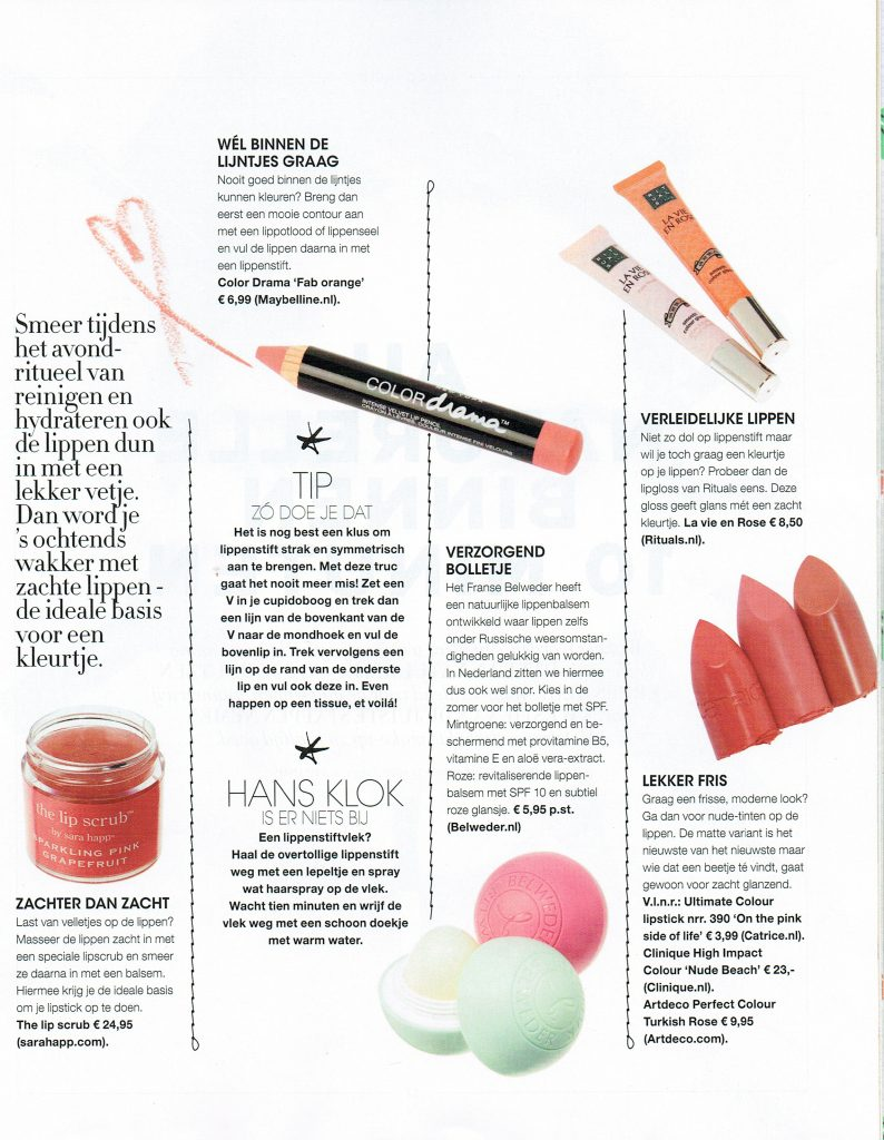 Belweder featured in Libelle | July 2015